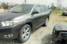 Toyota Highlander 2008 Gray for sale