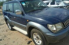 Neatly Used Toyota Land Cruiser Prado 1999 Blue for sale