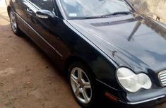 Neatly Used Mercedes-Benz C240 2004 Black