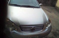 Toyota Corolla 2004 Silver for sale