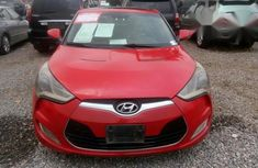 Clean Hyundai Veloster 2012 Red for sale