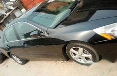 Honda Accord 2007 Sedan EX-L V-6 Automatic Black for sale