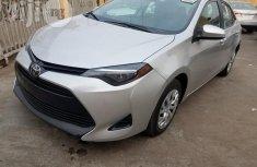 Toyota Corolla 2017 Silver for sale