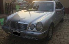 Mercedes Benz E230 1996 Silver for sale