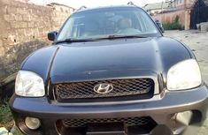 Tokunbo Hyundai Santa Fe 2003 Black for sale