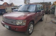 Land Rover Range Rover Vogue 2004 Red for sale