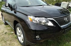 Lexus RX 350 2010 Black for sale
