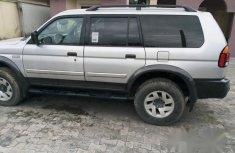 Mitsubishi Montero 2002 Gray for sale
