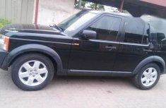 Land Rover LR 3 2007 Black for sale
