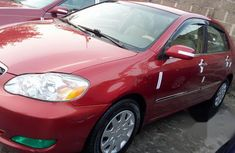 Toyota Corolla 2008 Red for sale