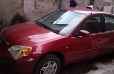 Honda Civic 2001 Red for sale