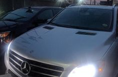 Clean Tokunbo Mercedes-Benz Ml 350 AMG 2014 Silver For Sale