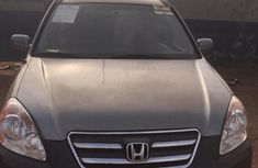 Honda CR-V 2006 Silver for sale