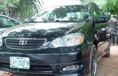 Toyota Corolla 2005 1.8 TS Black for sale