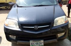 Clean Used Acura MDX 2001 Black For Sale
