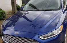 Ford Fusion 2015 Blue for sale