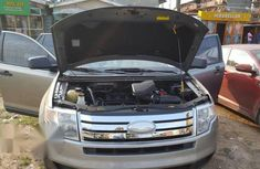 Ford Edge 2008 Silver for sale