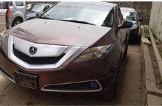 Acura ZDX 2011 Red for sale