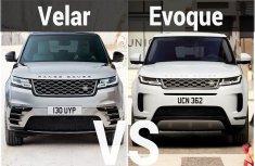 2020 Range Rover Velar vs 2020 Range Rover Evoque – What are the differences?