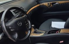2009 Tokunbo Mercedes-Benz E550 AMG Styling Silver