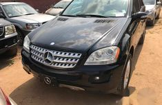 Mercedes Benz ML 500 2006 Black for sale