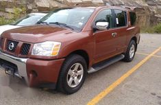 Nissan Armada 2005 4x4 LE Red for sale