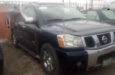 Clean Nissan Armada 2007 Blue For Sale