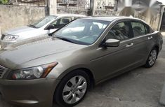 Honda Accord 2008 Brown Leather Seat In Uyo for sale
