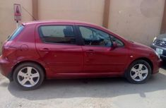 Peugeot 307 2002 Red for sale