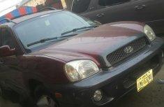 Hyundai Santa Fe 2.4 2001 Red for sale