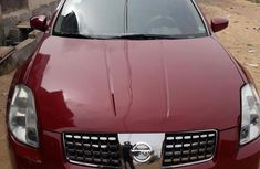 Nissan Maxima 2004 Red for sale