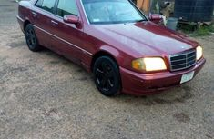 Mercedes-benz C200 1999 Red for sale