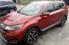 New Honda CR-V 2017 Red for sale