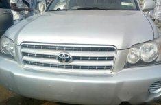 Toyota Highlander 2003 Silver for sale
