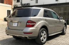Used Mercedes Benz ML 300 2010 Gold for sale