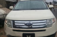 Ford Edge 2008 Gold for sale