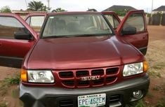 Isuzu Rodeo 2001 Red For Sale