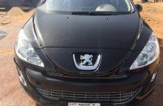 Peugeot 308 2013 Black for sale