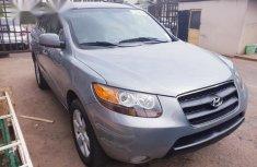Clean Hyundai Santa Fe 2007 Blue for sale
