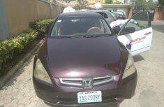 Clean Honda Accord 2005 Purple For Sale