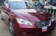 Lexus ES 2008 Red for sale