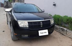 Lincoln MKX 2008 4WD Black for sale