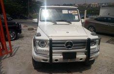 Mercedes Benz Gwagon G500 2015 White for sale