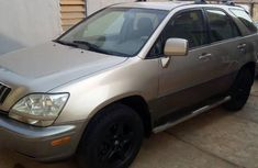 Clean Used Lexus RX 2002 Brown for sale