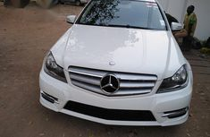 Mercedes-Benz C250 2012 White for sale