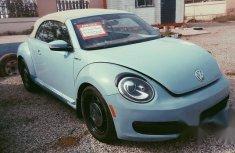 Volkswagen Beetle Convertible 2014 Blue for sale