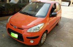 Hyundai i10 2009 Orange for sale