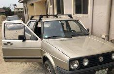 Volkswagen Golf 1992 Gold for sale