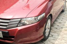 Honda City 2010 Red for sale