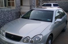Lexus GS 2002 Silver for sale